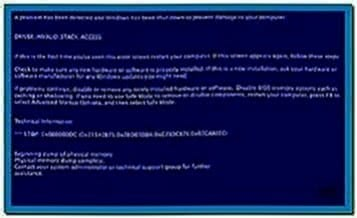 Bluescreen Screensaver Mac