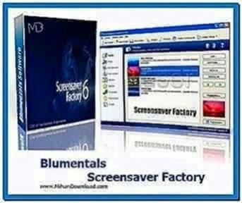 Blumentals screensaver factory enterprise