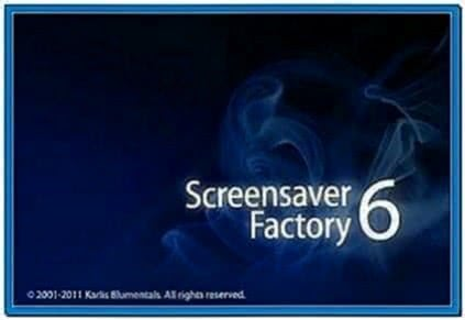 Blumentals Screensaver Factory Enterprise 5.0