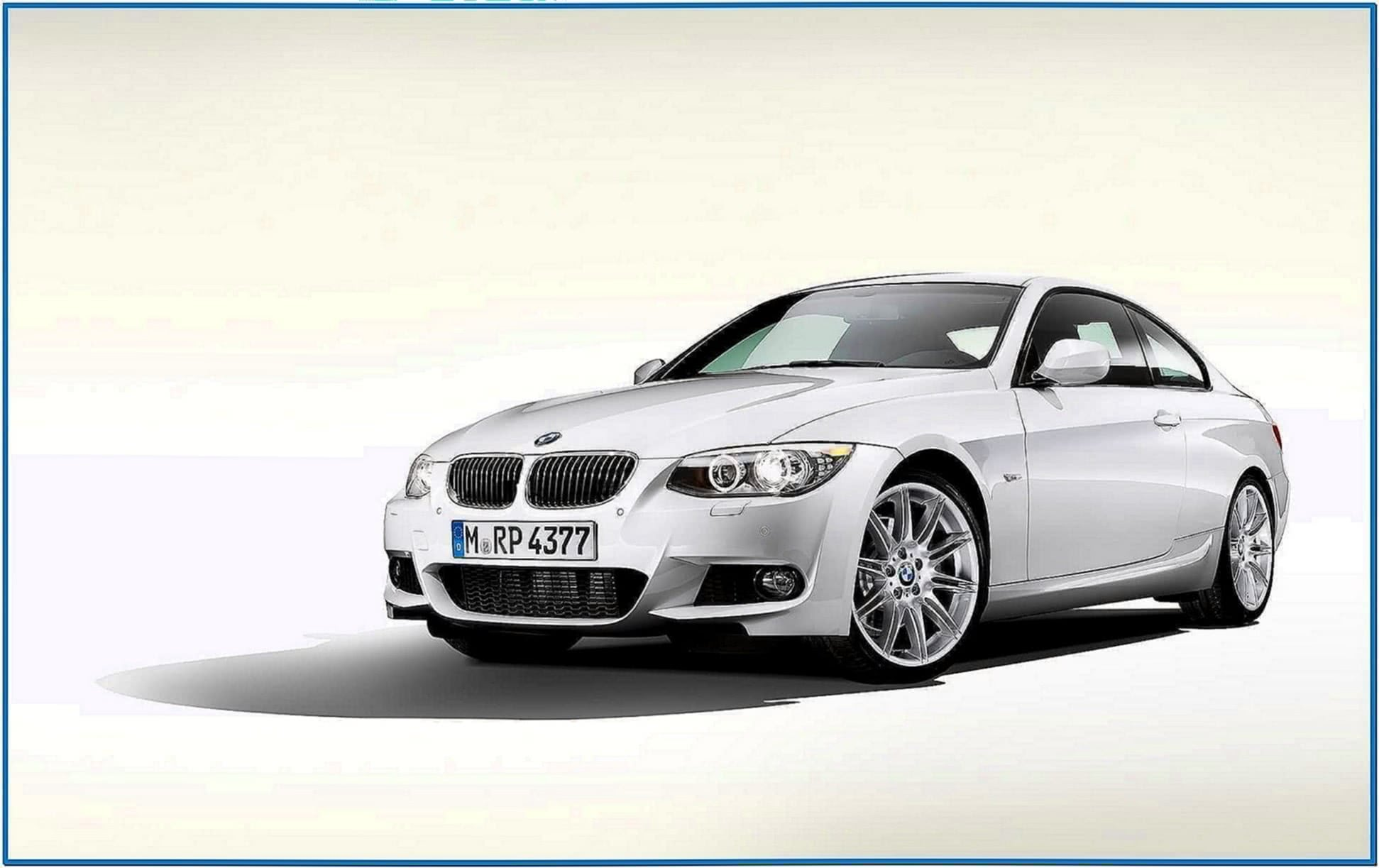 BMW 3 Series Coupe Screensaver
