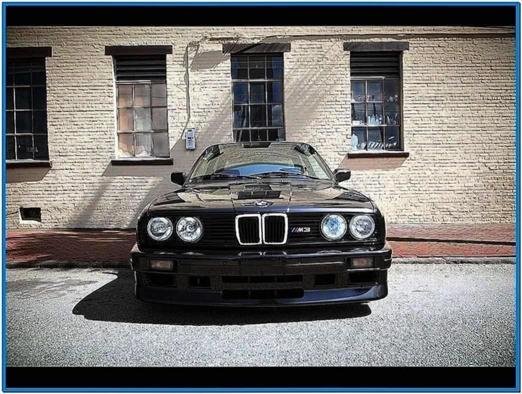BMW E30 M3 Screensaver