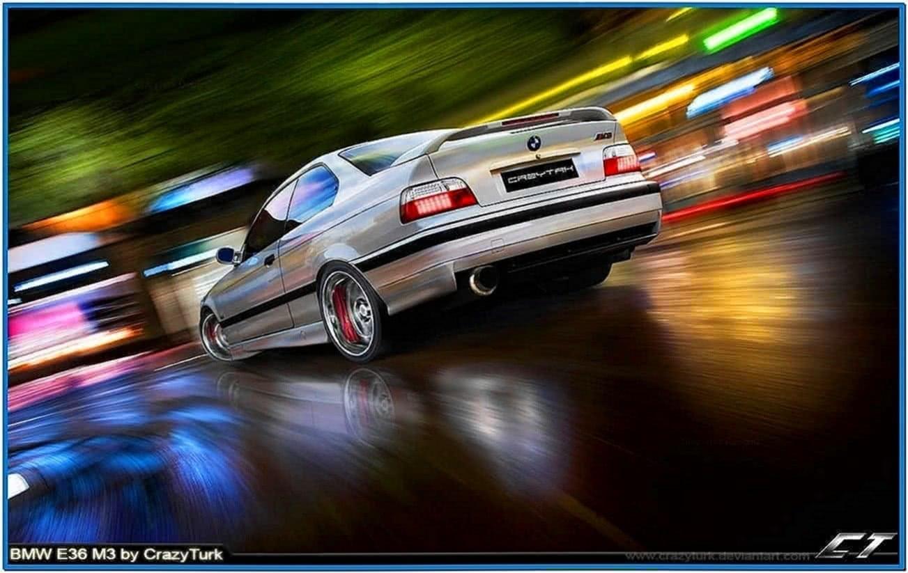 BMW E36 M3 Screensaver