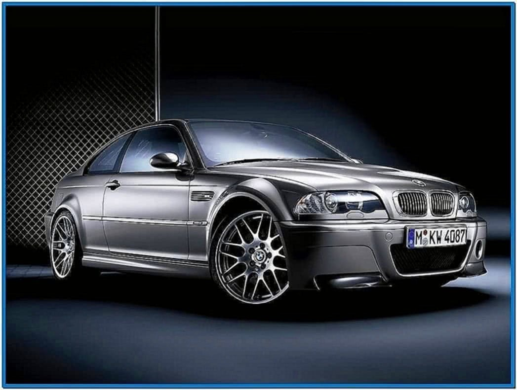 BMW M3 E46 Screensaver
