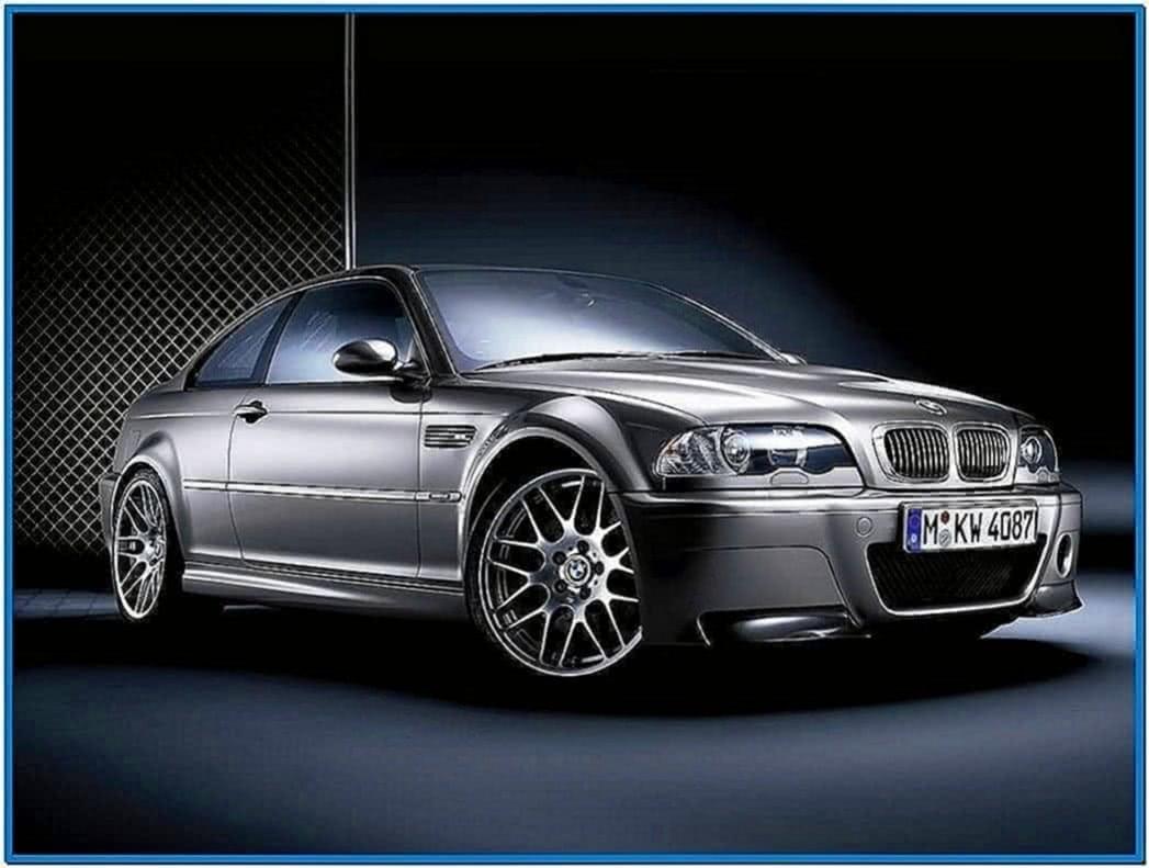 BMW M3 E46 Screensaver