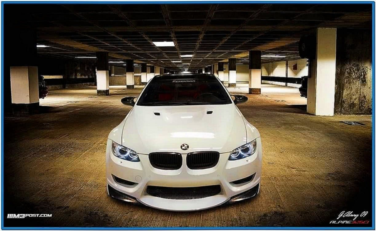 BMW M3 E92 Screensaver