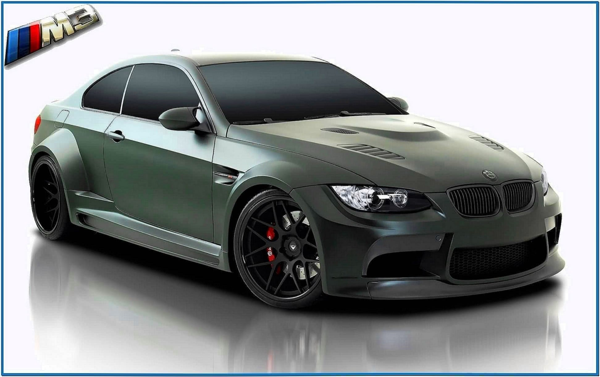 BMW M3 Screensaver