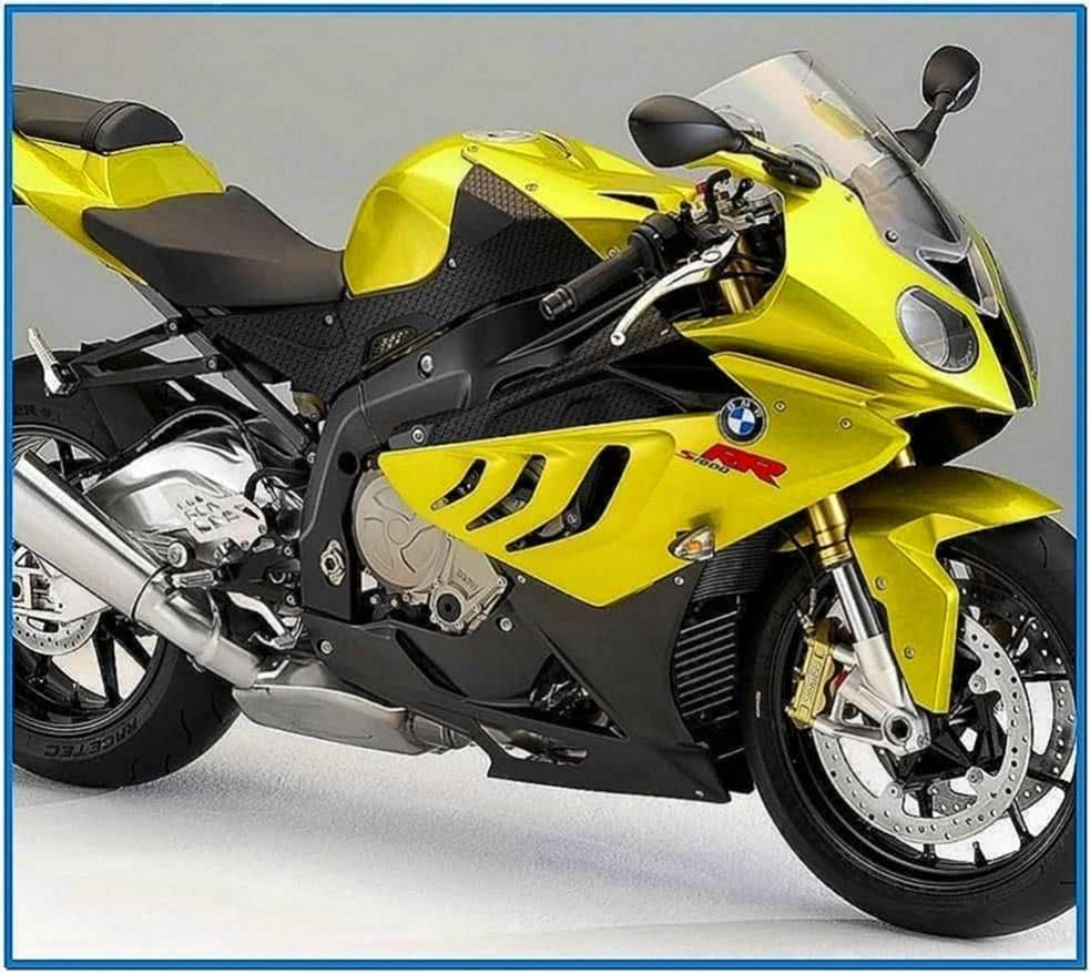 BMW Motorcycle Screensaver Windows 7