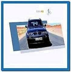 BMW X3 Screensaver Mac