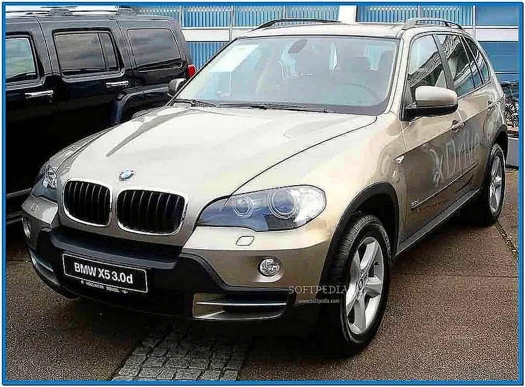 BMW X5 Screensaver