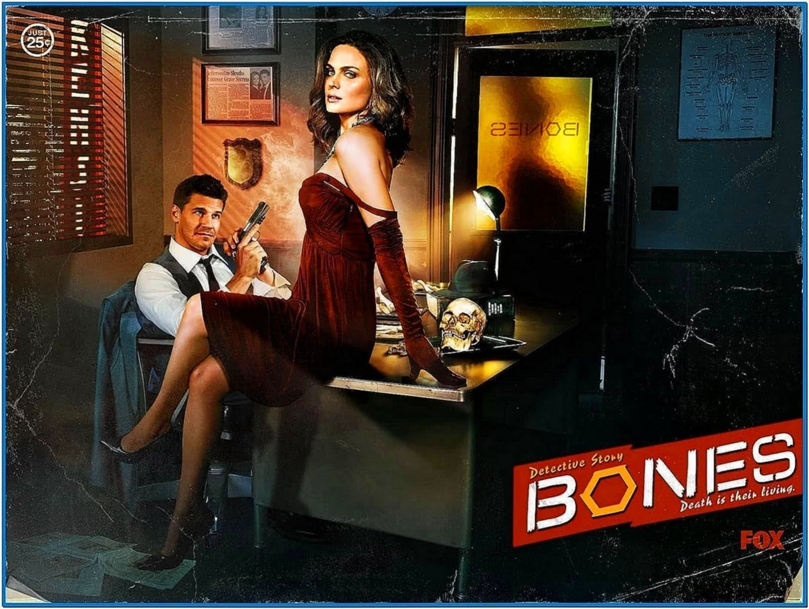Bones TV Show Screensaver