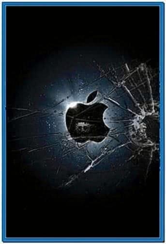 Broken Glass Screensaver iPhone