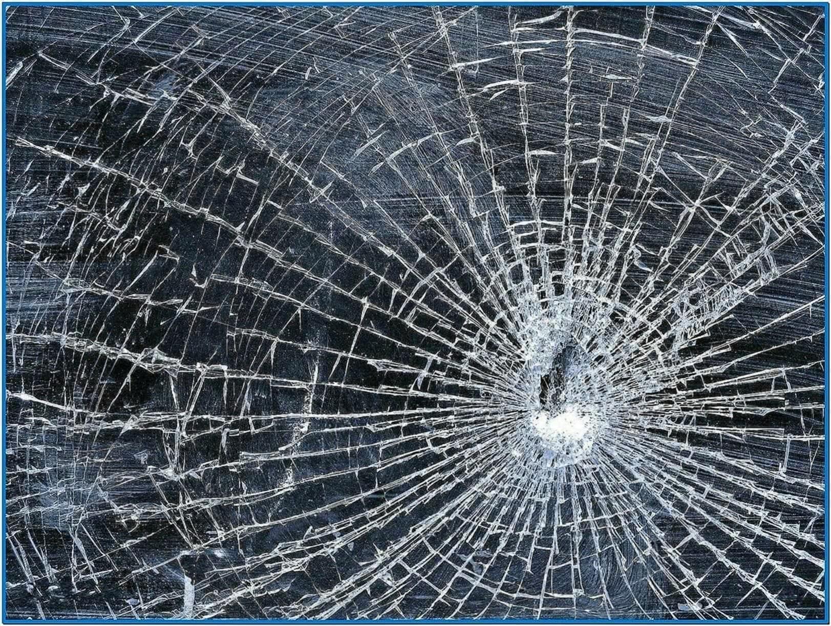 Broken Glass Screensaver Mac