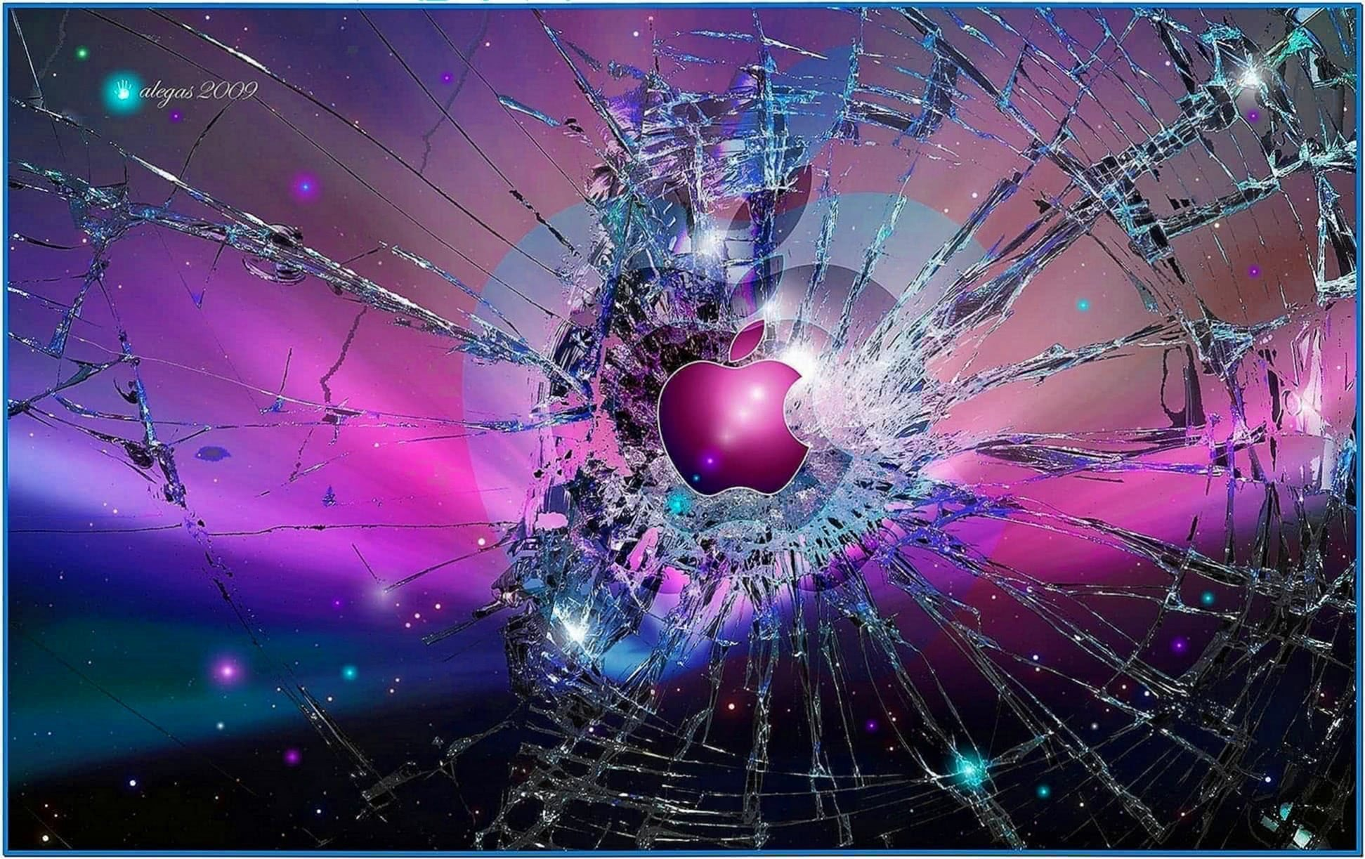 Broken Glass Screensaver Mac