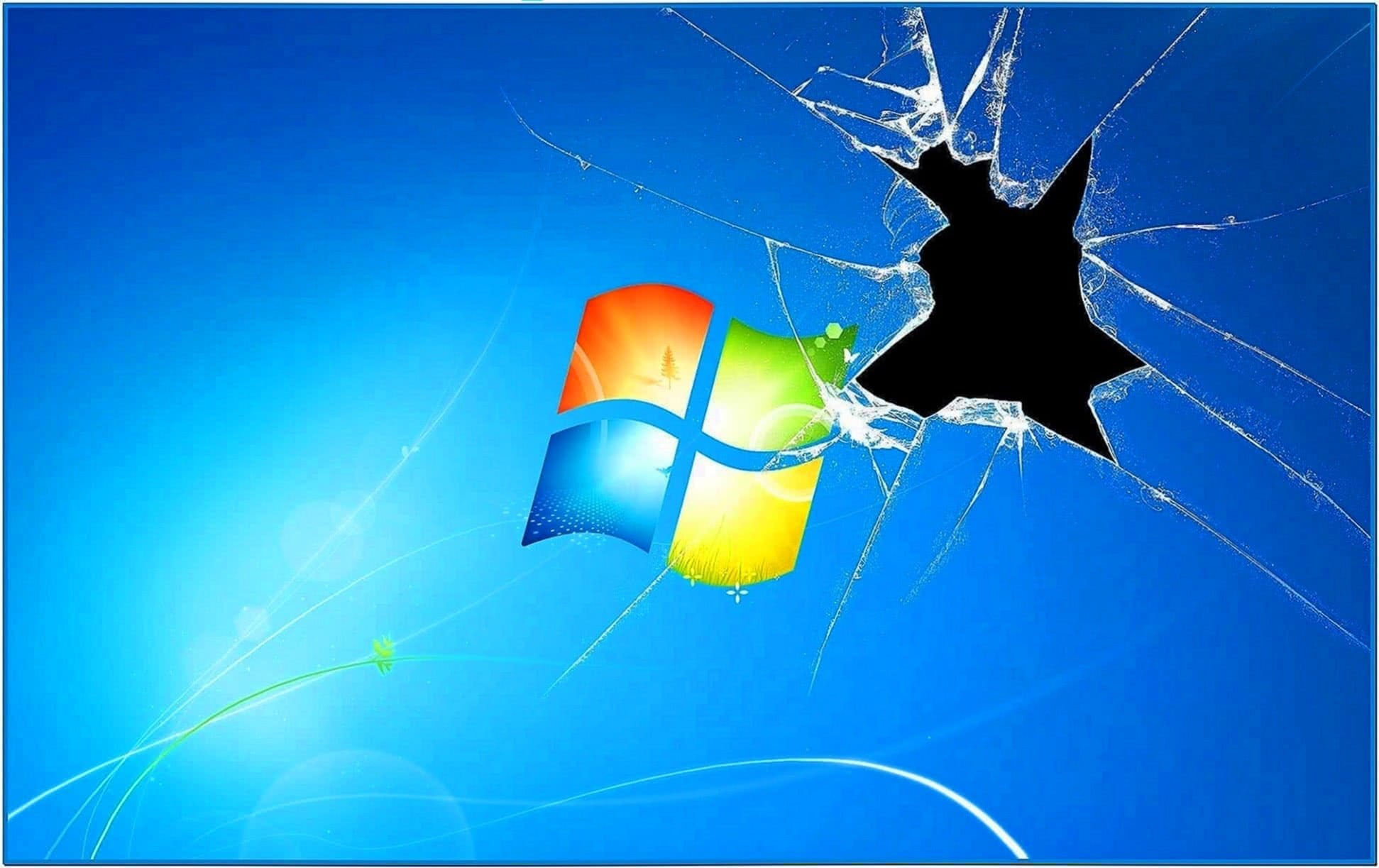 Broken Glass Screensaver