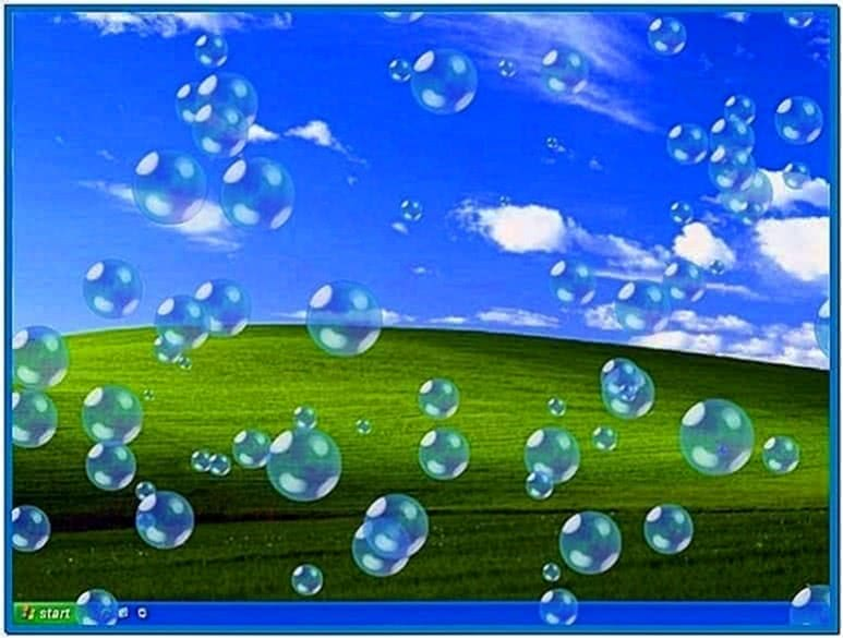 Bubbles 3D Screensaver 1.41