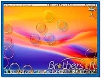 Bubbles X Screensaver Mac
