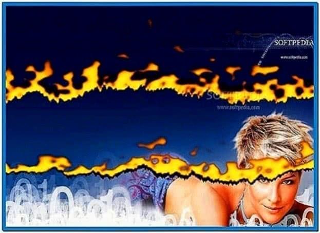 Burning Desktop Screensaver Mac