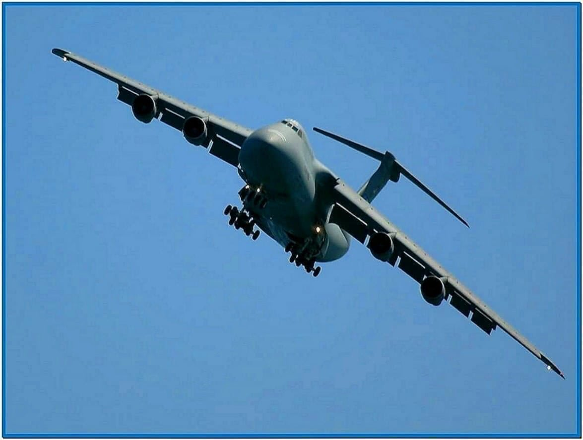C-5 galaxy screensaver