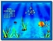 Calendar Underwater Screensaver Mac