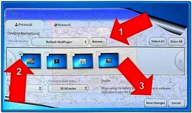Cambiar Screensaver Windows 7 Starter