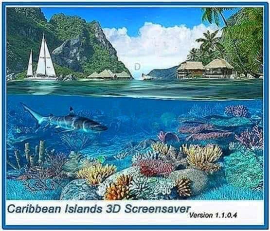 Caribbean Islands 3D Screensaver 1.1.0.4