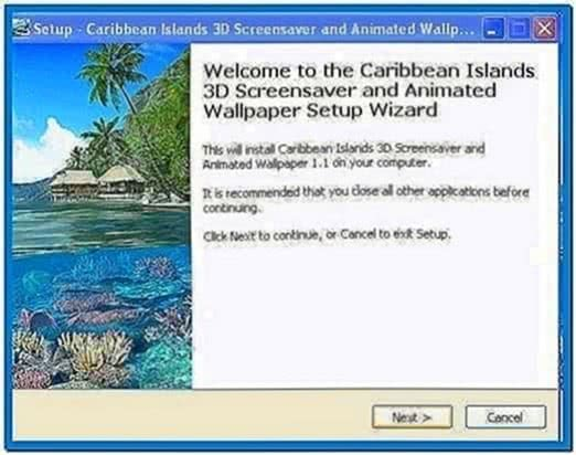 Caribbean Islands 3D Screensaver 1.1.0.4