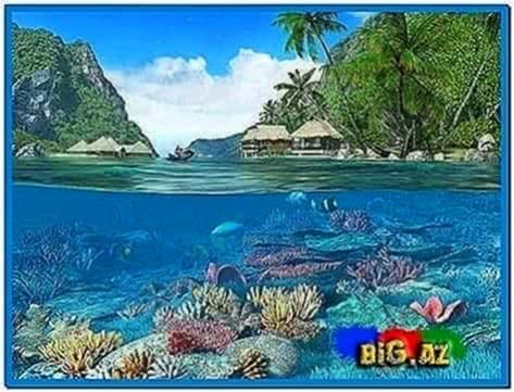 Caribbean Islands 3D Screensaver and Animated Wallpaper 1.1