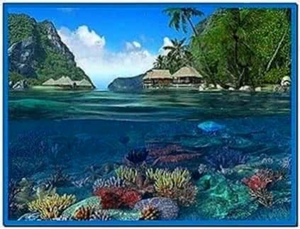 Caribbean islands 3d screensaver and animated wallpaper 1 - Caribbean islands 3d wallpaper ...