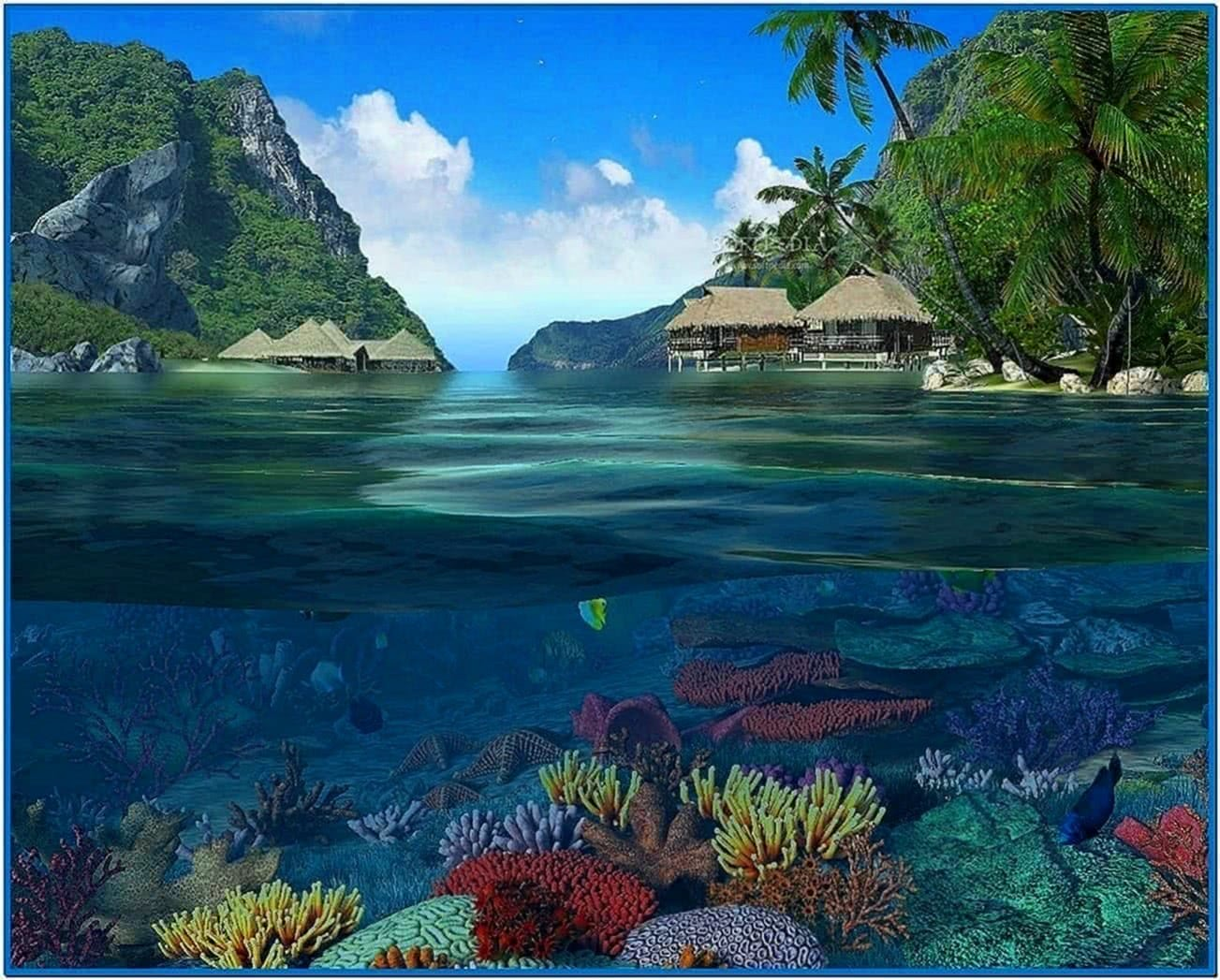 Caribbean Islands 3D Screensaver