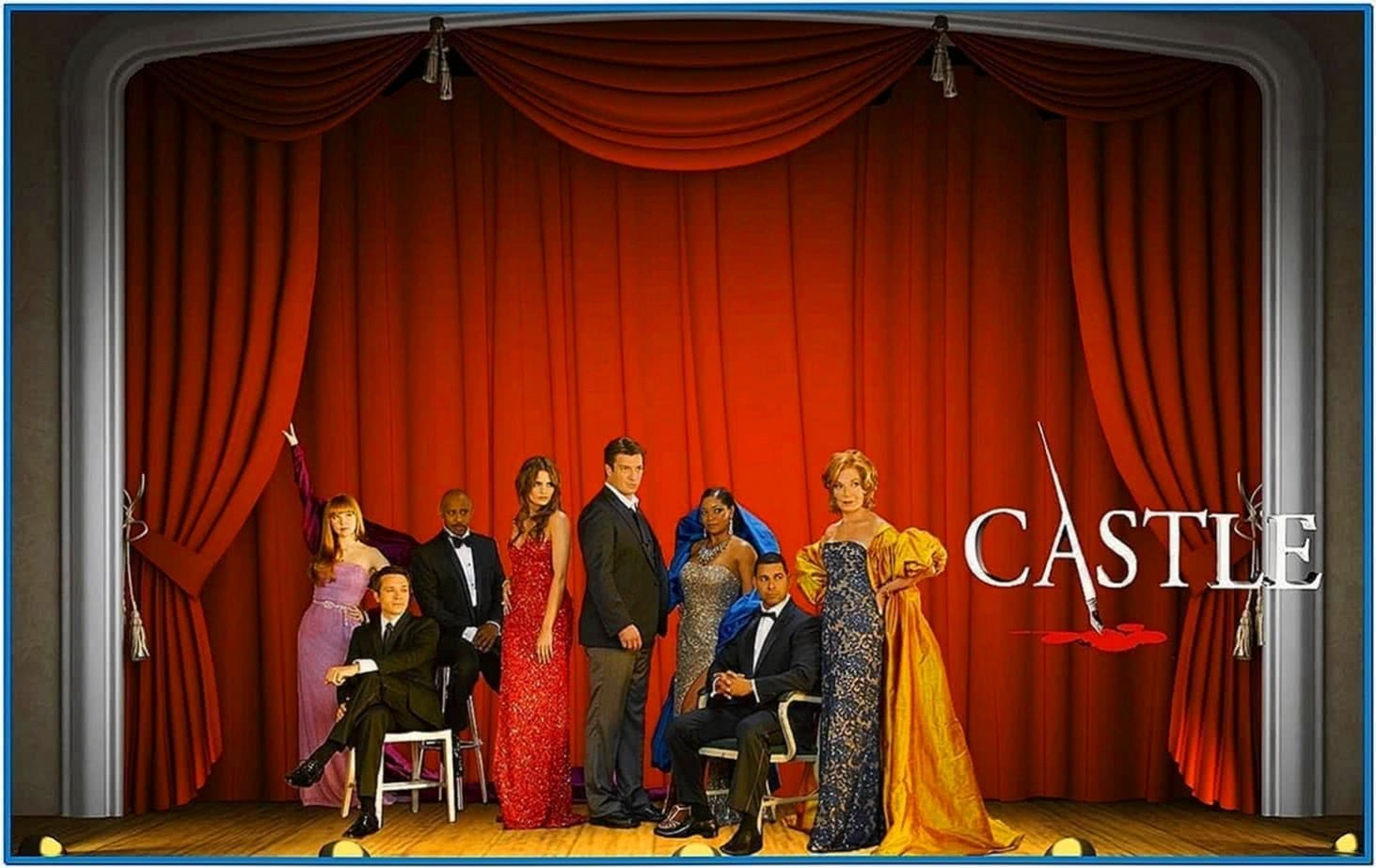 Castle TV Series Screensaver