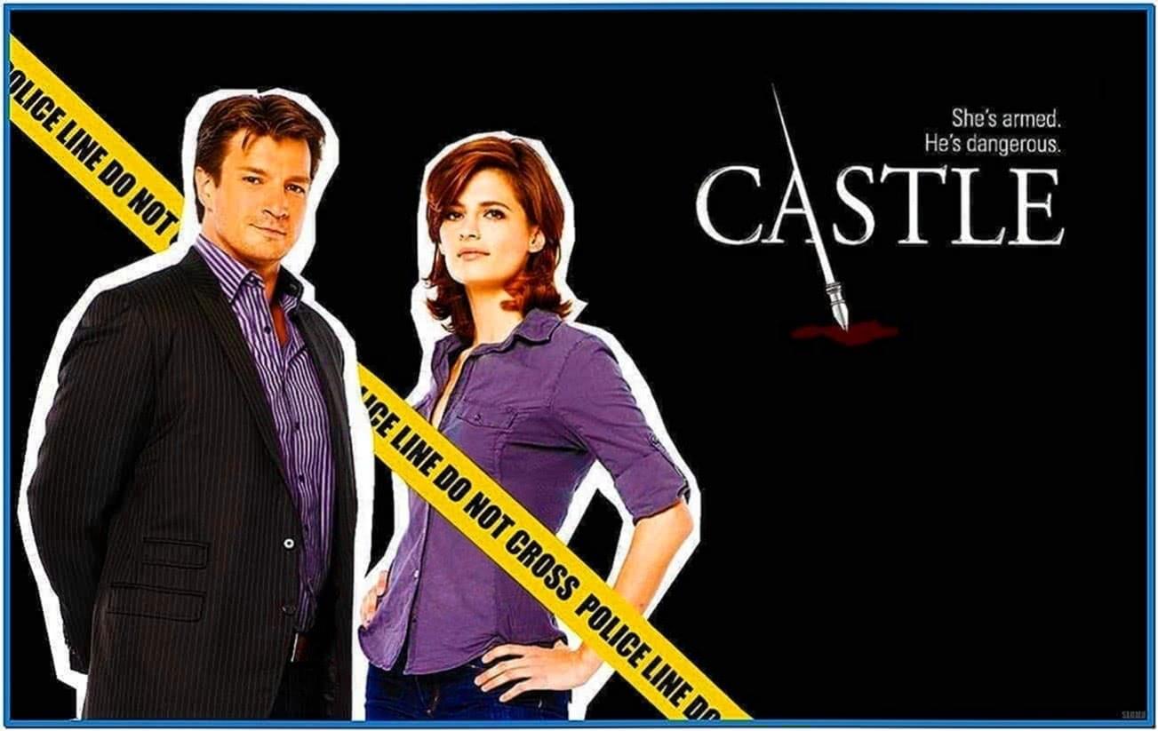 Castle tv show screensaver