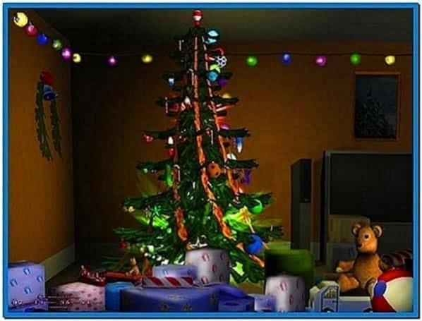 Christmas 3D Screensaver and Animated Wallpaper