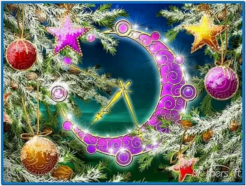 Christmas Countdown Clock Screensaver Mac