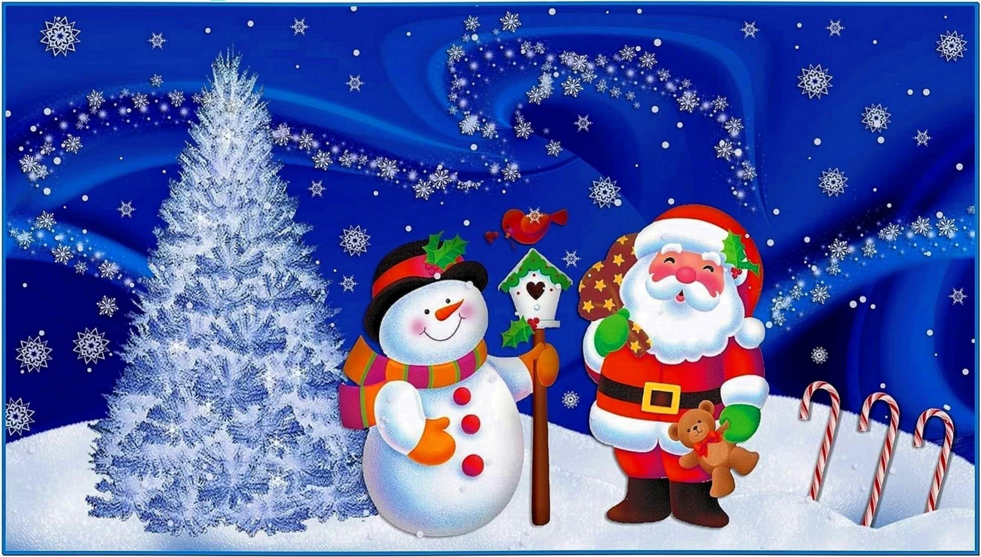 Christmas desktop wallpapers and screensavers