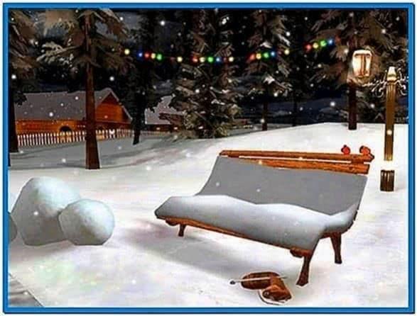 Christmas Eve 3D Screensaver 1.0