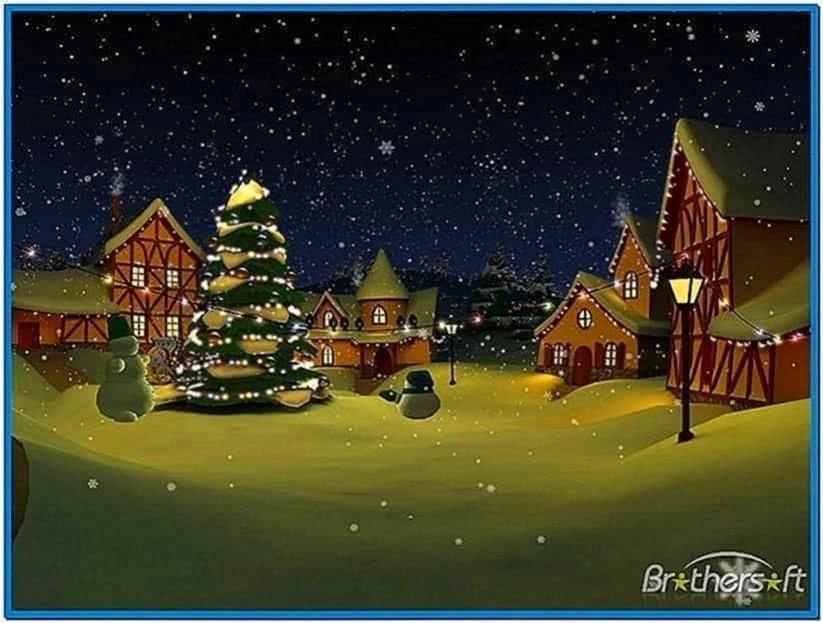 Christmas Holiday 3D Screensaver