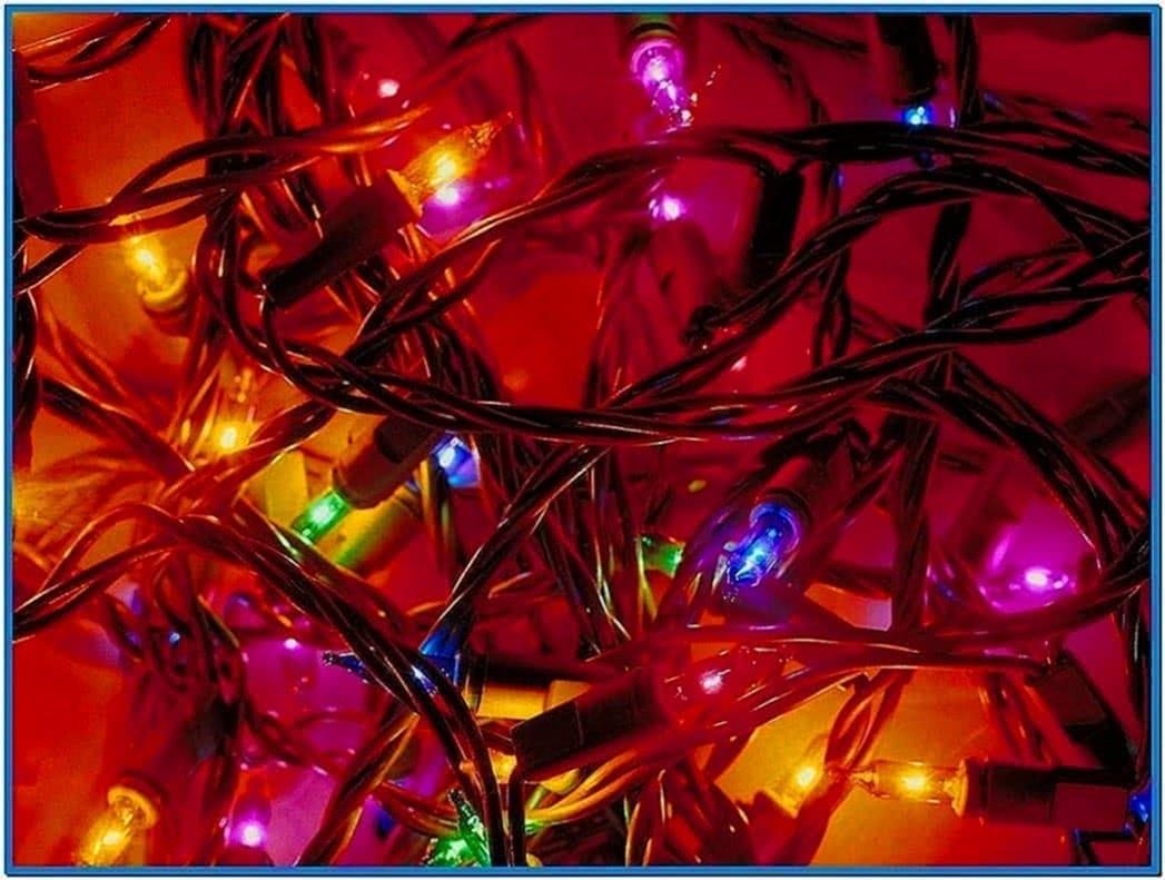 Christmas Light Screensaver Download Free