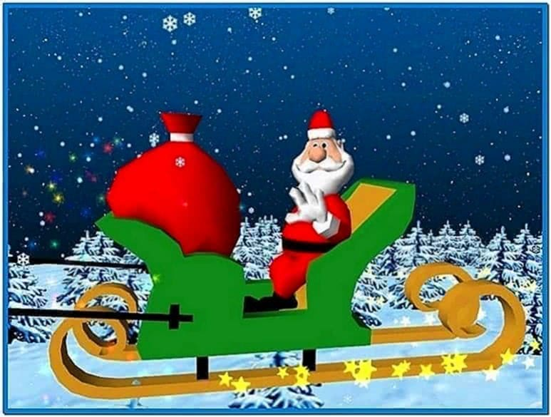 Christmas Santa Claus 3D Screensaver 1.0