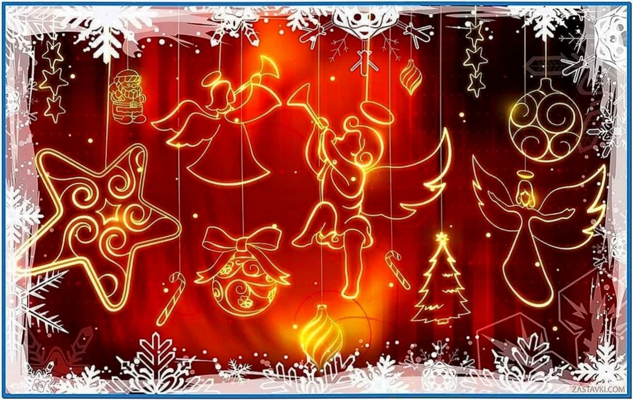 Christmas Screensaver Desktop Themes