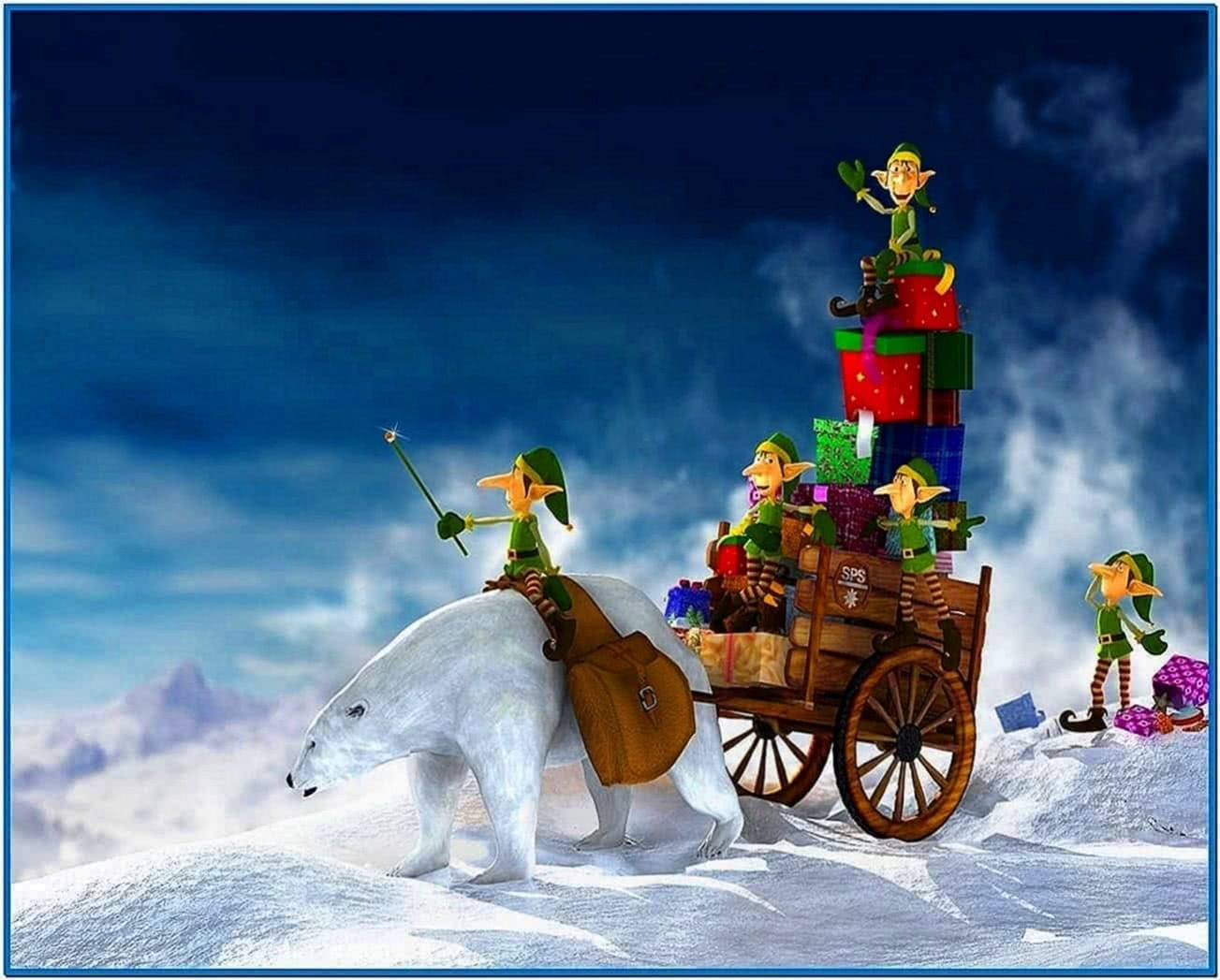 Christmas Screensavers Wallpaper 3D