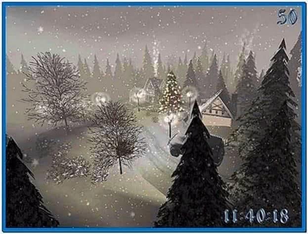 Christmas Time 3D Screensaver 1.0