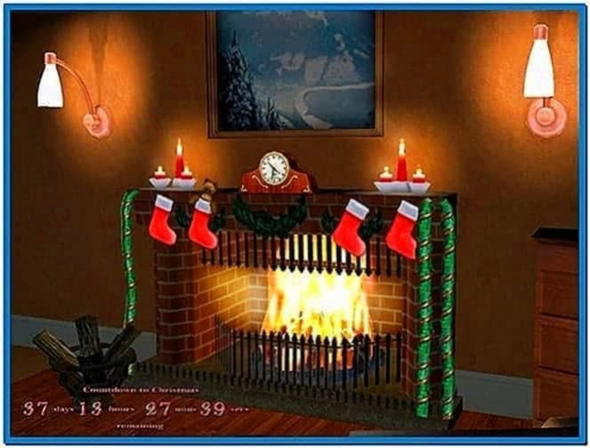 Christmas Train Screensaver