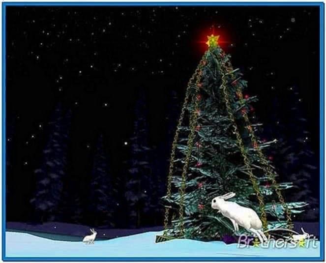 Christmas Tree 3D Screensaver 1.0