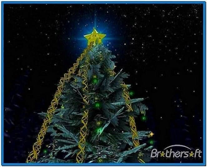 Christmas Tree 3D Screensaver 1.0