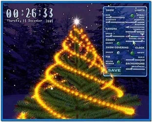 Christmas Tree Screensaver