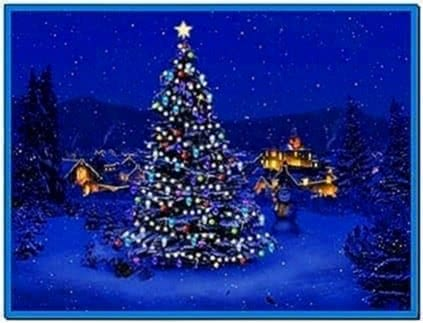 Christmas tree screensaver with music download free