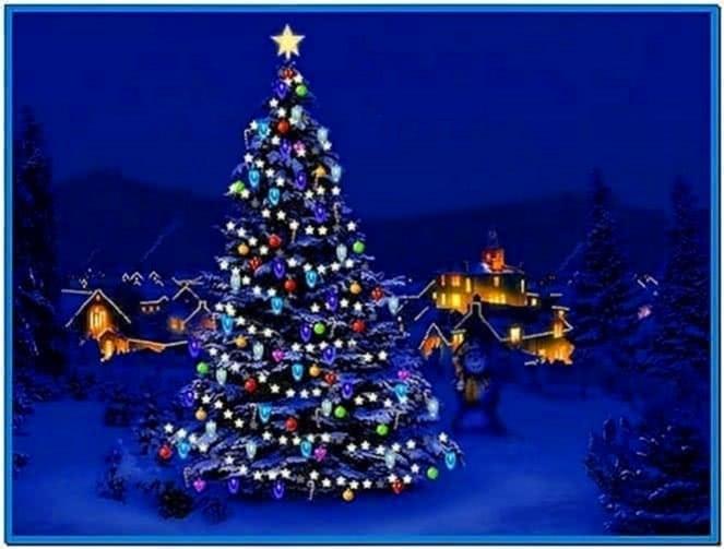 Christmas Screensavers With Music And Lights