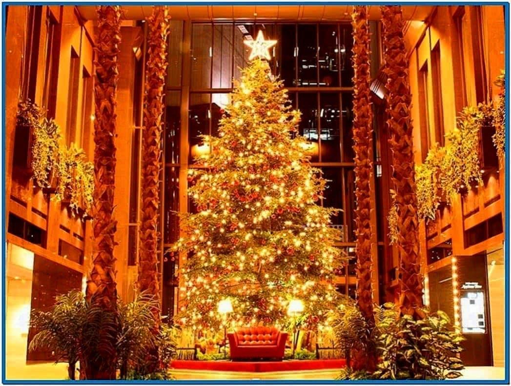 Christmas tree screensavers mac - Download free