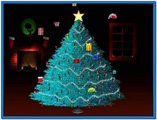 Christmas Tree Screensavers Windows 7
