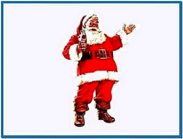 Christmas wallpapers and screensavers santa claus